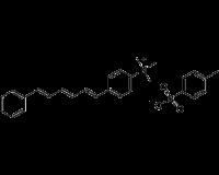 N,N,N-Trimethyl-4-(6-phenyl-1,3,5-hexatrien-1-yl)phenylammonium p-toluenesulfonate