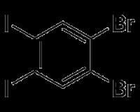 1,2-Dibromo-4,5-diiodobenzene