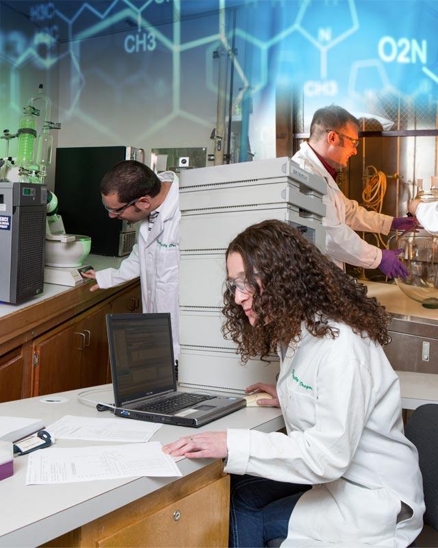 laboratories in eugene