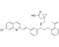 1-[[[(1R)-1-[3-[(1E)-2-(7-chloro-2-quinolinyl)ethenyl]phenyl]-3-[2-(1-methylethenyl)phenyl]propyl]thio]methyl]-cyclopropaneacetic acid