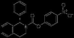(1S)-3,4-Dihydro-1-phenyl-2(1H)-isoquinolinecarboxylic acid 4-nitrophenyl ester