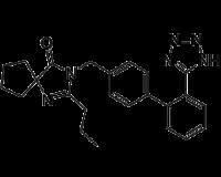 2-Propyl-3-[[2′-(2H-tetrazol-5-yl)[1,1′-biphenyl]-4-yl]methyl]-1,3-diazaspiro[4.4]non-1-en-4-one
