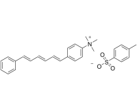 N,N,N-Trimethyl-4-(6-phenyl-1,3,5-hexatrien-1-yl)phenylammonium p-toluenesulfonate
