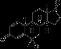 Spiro[androsta-1,4-diene-6,2′-oxirane]-3,17-dione