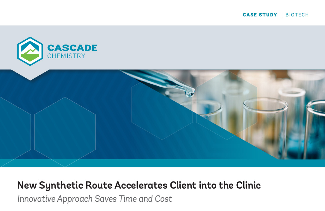 New Synthetic Route Accelerates Client into the Clinic